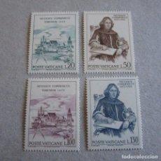 Sellos: VATICANO 1973,YVERT Nº 558/61**, V CENTENARIO DEL NACIMIENTO DE COPERNICO. Lote 206554232
