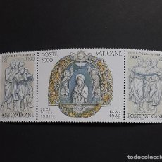 Sellos: SELLOS VATICANO - 1982 - LUCA DELLA ROBBIA - YVERT 728 / 730 - /**/ NUEVOS. Lote 260564580