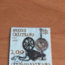 Sellos: VATICANO 2007 USADO FACIAL 2 €. EL MUSEO VATICANO. YVERT 1422. Lote 209966786