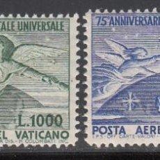 Sellos: VATICANO, 1949 YVERT Nº 18 / 19 /**/, 75º ANIVERSARIO DE LA U.P.U., SIN FIJASELLOS. Lote 210330047