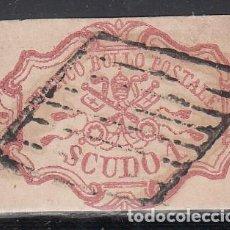 Sellos: ESTADOS DE LA IGLESIA, 1852-1864 YVERT Nº 11. Lote 210332188