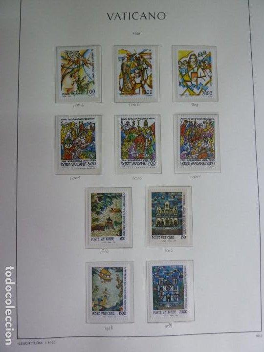 VATICANO 10 SELLOS DE 1990. NUEVOS (Sellos - Extranjero - Europa - Vaticano)