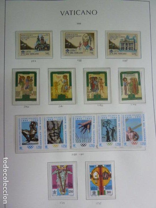 VATICANO SELLOS DE 1996. NUEVOS (Sellos - Extranjero - Europa - Vaticano)