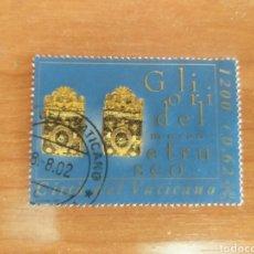 Sellos: VATICANO 2001. USADO. EL ORO DEL MUSEO ETRUSCO GREGORIANO.. Lote 212766510
