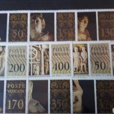 Sellos: SELLOS CON GOMA ORIGINAL DEL VATICANO W001. Lote 214100538