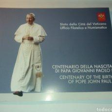 Sellos: CENTENARIO DEL NACIMIENTO DEL PAPA JUAN PABLO I - 2012 - VER FOTOGRAFIAS EN EL LA DESCRIPCIÓN.. Lote 214545260