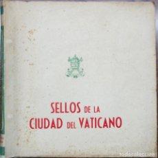 Sellos: ALBUM CON 135 SELLOS DE LA CIUDAD DEL VATICANO (1929-1959), NUEVOS CON CHARNELA. LOTE 0067. Lote 219109465