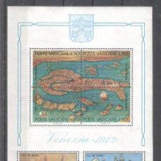Sellos: VATICANO H.B. Nº 3** SALVAR VENECIA, PATRIMONIO MUNDIAL POR LA UNESCO. Lote 221437323