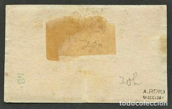 Sellos: VATICANO, ESTADO PONTIFICIO, SELLO, ESCUDO NACIONAL, 1852, (2), CERT. ROIG, STAMP ITALY - Foto 2 - 222609822