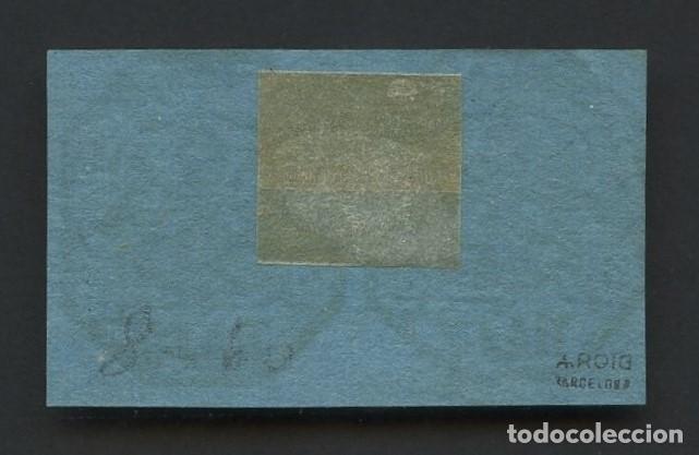 Sellos: VATICANO, ESTADO PONTIFICIO, SELLO, ESCUDO NACIONAL, 1852, (2), CERT. ROIG, STAMP ITALY - Foto 2 - 222610953