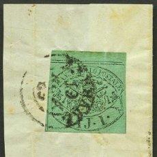 Sellos: VATICANO, ESTADO PONTIFICIO, SELLO, ESCUDO NACIONAL, 1852, STAMP ITALY. Lote 222802818