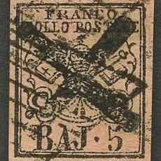 Sellos: VATICANO, ESTADO PONTIFICIO, SELLO, ESCUDO NACIONAL, 1852, STAMP ITALY. Lote 222818002