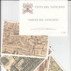 Sellos: VATICANO - E.P -CARTOLINE POSTALI - 1982 - VEDUTE DEL VATICANO. Lote 222902082