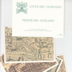Sellos: VATICANO - E.P - CARTOLINE POSTALI - 1982 - VEDUTE DEL VATICANO. Lote 222902557
