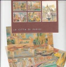 Sellos: VATICANO - E.P - CARTOLINE POSTALI - 1989 - LA CITTA DI PARIGI. Lote 222907627