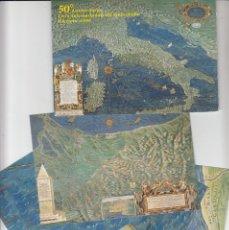 Sellos: VATICANO - E.P - CARTOLINE POSTALI - 1998 - 50 ANNIVERSARIO FIERA INTERNAZIONALE FRANCOBOLLO. Lote 222914512