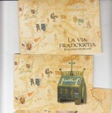 Sellos: VATICANO - E.P - CARTOLINE POSTALI - 1999 - LA VIA FRANCIGENA - PERCORSO GIUBILARE. Lote 222915016