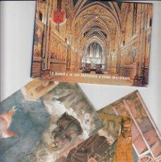 Sellos: VATICANO - E.P - CARTOLINE POSTALI - 2000 - LA BASILICA DE SAN FRANCESCO D'ASSISI. Lote 222927096