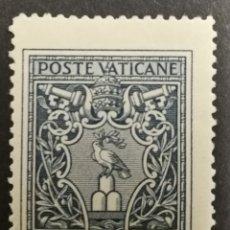 Sellos: VATICANO 1945,PALOMA DE LA PAZ MH*(FOTOGRAFÍA REAL). Lote 225182782