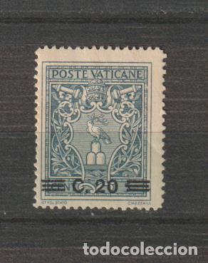 VATICANO IVERT 120*. AÑO 1946. NUEVO CON FIJASELLOS. (Sellos - Extranjero - Europa - Vaticano)