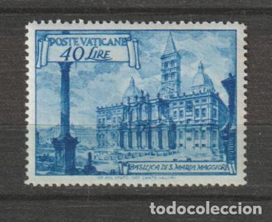 VATICANO IVERT 148*. AÑO 1949. NUEVO CON FIJASELLOS (Sellos - Extranjero - Europa - Vaticano)
