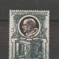 Sellos: VATICANO IVERT 177. AÑO 1953. USADO. Lote 230698800