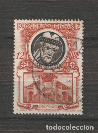 VATICANO IVERT 179. AÑO 1953. USADO (Sellos - Extranjero - Europa - Vaticano)