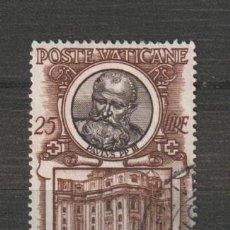 Sellos: VATICANO IVERT 181. AÑO 1953. USADO. Lote 230708970