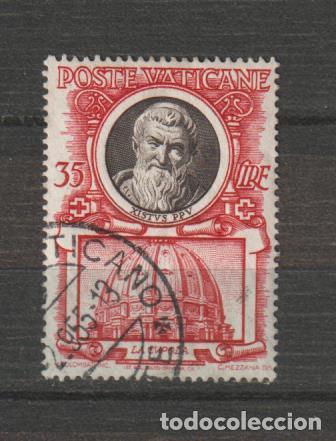 VATICANO IVERT 182. AÑO 1953. USADO (Sellos - Extranjero - Europa - Vaticano)