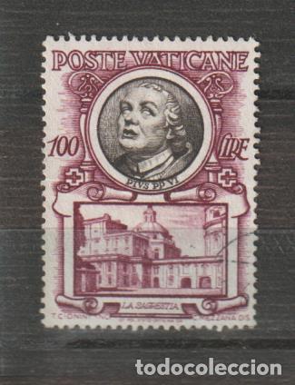 VATICANO IVERT 186. AÑO 1953. USADO (Sellos - Extranjero - Europa - Vaticano)