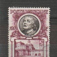 Sellos: VATICANO IVERT 186. AÑO 1953. USADO. Lote 230709200