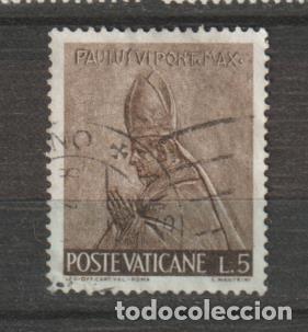 VATICANO IVERT 441. AÑO 1966. USADO. (Sellos - Extranjero - Europa - Vaticano)