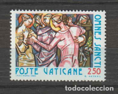 VATICANO IVERT 700**. AÑO 1980. NUEVO SIN FIJASELLOS. (Sellos - Extranjero - Europa - Vaticano)