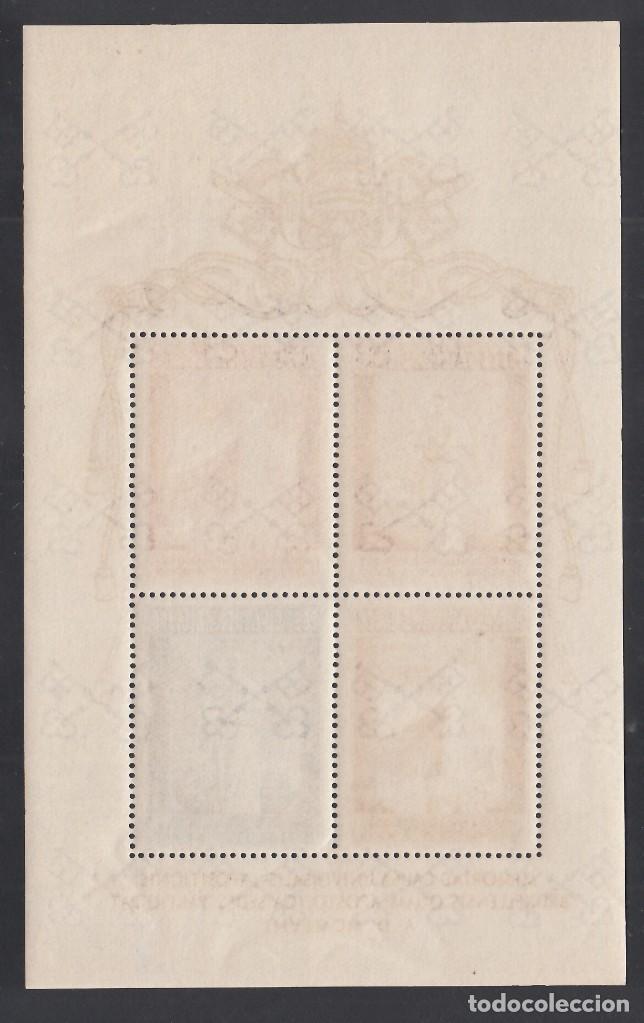 Sellos: VATICANO, 1952 YVERT Nº 2 /**/, EXPO- Bruselas, SIN FIJASELLOS - Foto 2 - 232325805