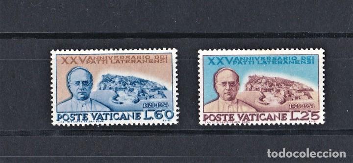 VATICANO 1954 DEL 25 ANIVERSARIO DE LOS ACUERDOS DE LETRAN (Sellos - Extranjero - Europa - Vaticano)