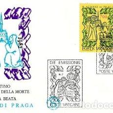 Sellos: VATICANO.- SOBRE DE PRIMER DIA DE BEATA AGNESE DE PRAGA Nº 726/27. Lote 244993365