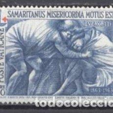 Sellos: VATICANO,1964, NUEVO, YVERT/TELLIER 411. Lote 245001400