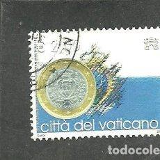Sellos: VATICANO, CIUDAD DEL 2004 - YVERT NRO. 1358 - USADO. Lote 254825270