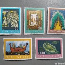 Sellos: VATICANO VATICANE 571/75 LA BIBLIA AÑO 1974 NUEVOS. Lote 255444690