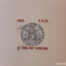 Timbres: AÑO 2001 VATICANO SELLO USADO. Lote 267319239