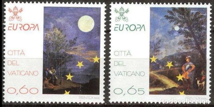 VATICANO 2009 - EUROPA - ASTRONOMIA - SERIE DE DOS SELLOS** (Sellos - Extranjero - Europa - Vaticano)