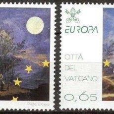Sellos: VATICANO 2009 - EUROPA - ASTRONOMIA - SERIE DE DOS SELLOS**. Lote 270361183