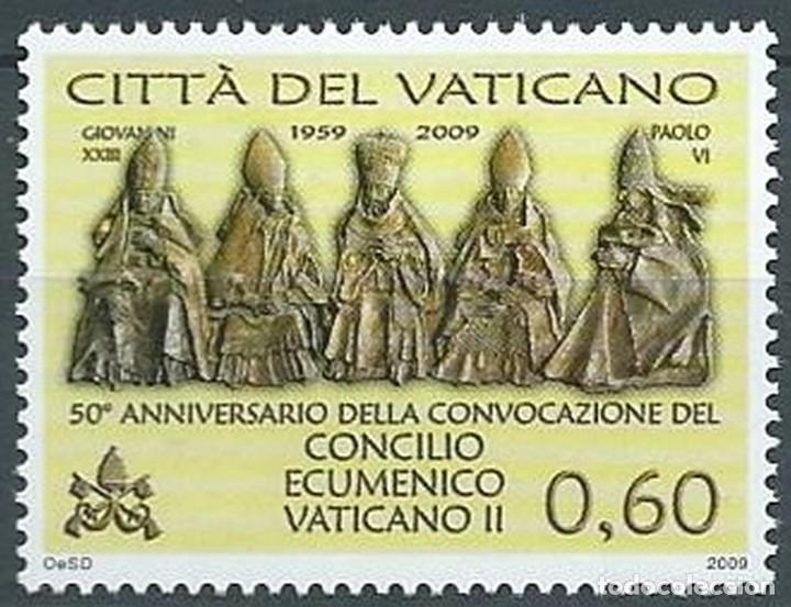 VATICANO 2009 - 50 ANIVERSARIO DEL CONCILIO ECUMÉNICO VATICANO II (Sellos - Extranjero - Europa - Vaticano)