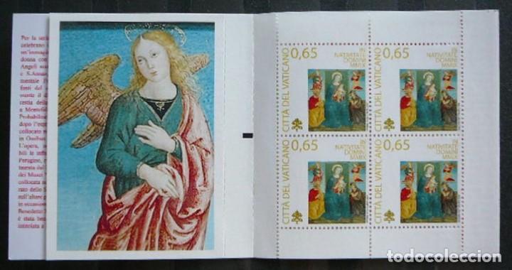 VATICANO 2009 - NAVIDAD - NOEL - CHRISTMAS - CARNET (BOOKLET) (Sellos - Extranjero - Europa - Vaticano)