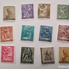 Sellos: SELLOS VATICANO,1966,SERIE COMPLETA, 12 UNID. NUEVOS.. Lote 286538288