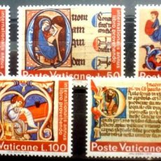 Sellos: SELLOS VATICANO 1972 - FOTO 523 - COMPLETA, NUEVO. Lote 293256628