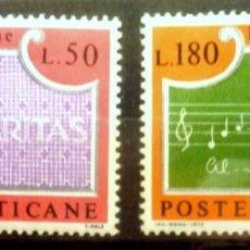Sellos: SELLOS VATICANO 1972 - FOTO 525 - COMPLETA, NUEVO. Lote 293256943