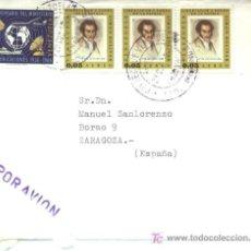 Sellos: + SOBRE Y SELLOS DE VENEZUELA 1966. Lote 5624646