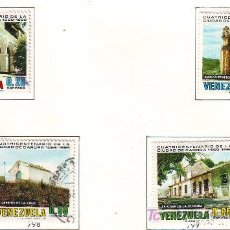 Sellos: VENEZUELA.AÑO 1969.CIUDAD DE CARORA.MONUMENTOS.. Lote 21100082