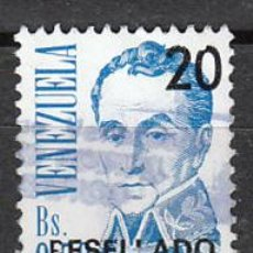 Sellos: VENEZUELA, BOLIVAR, USADO. Lote 23554396